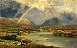 George Inness The Delaware Water Gap painting